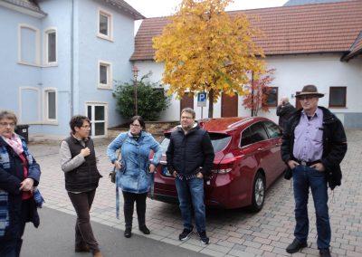 Ortsrundgang Kerzenheim, 26.10.2016