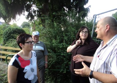 Ortsrundgang Gauersheim, 31.7.2017