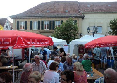 Marktplatzfest, Rockenhausen 22.8.2016